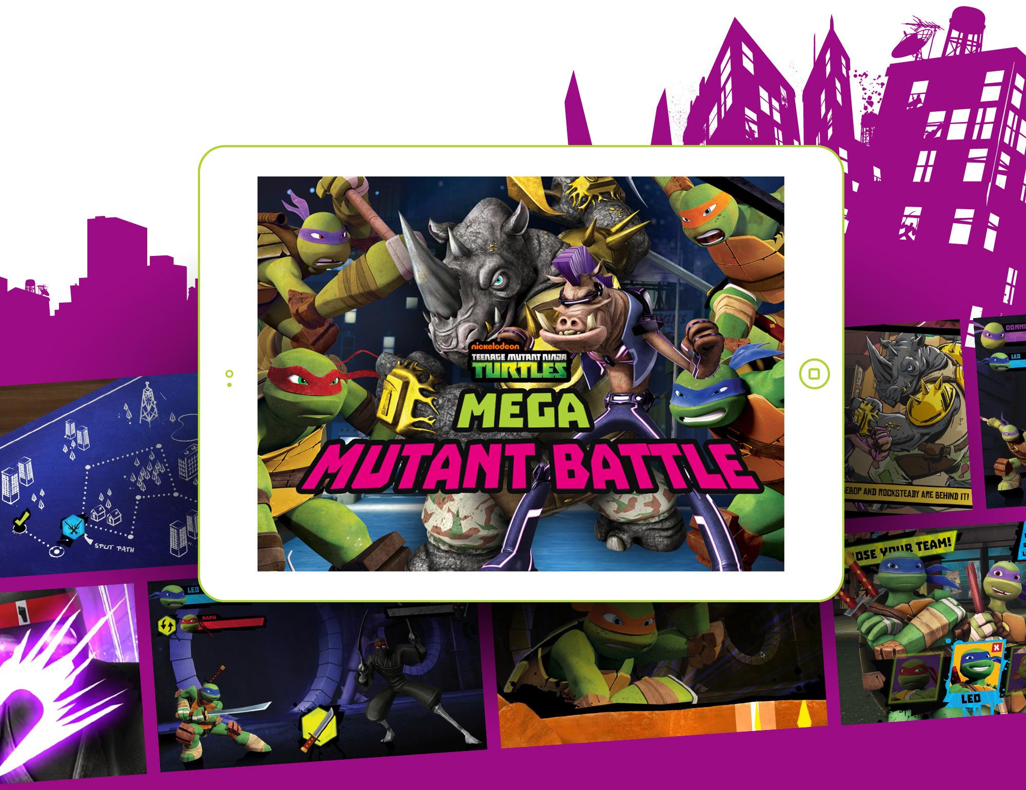 Teenage Mutant Ninja Turtles: Mega Mutant Battle